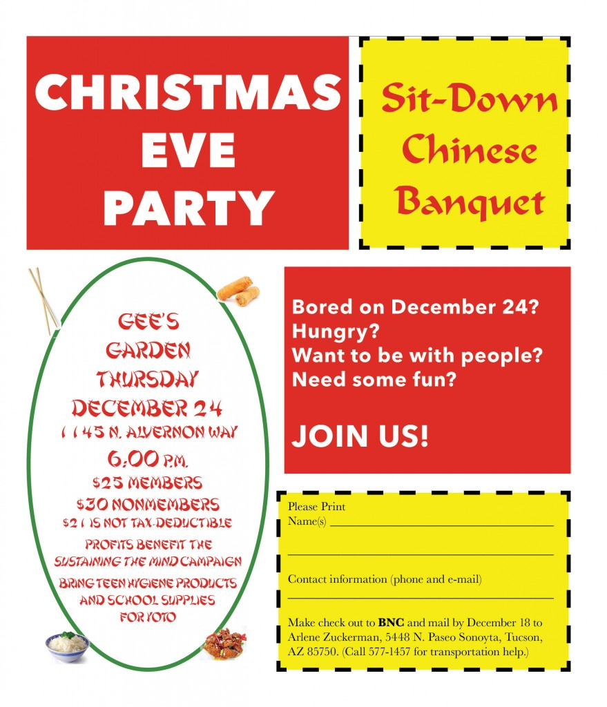 2015 Xmas Eve Party Ad