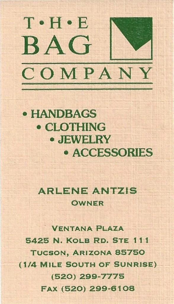 Bag Company ⅛