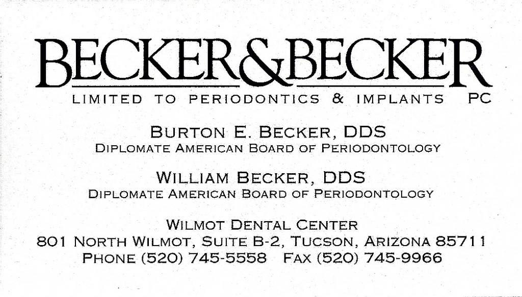Becker & Becker ⅛
