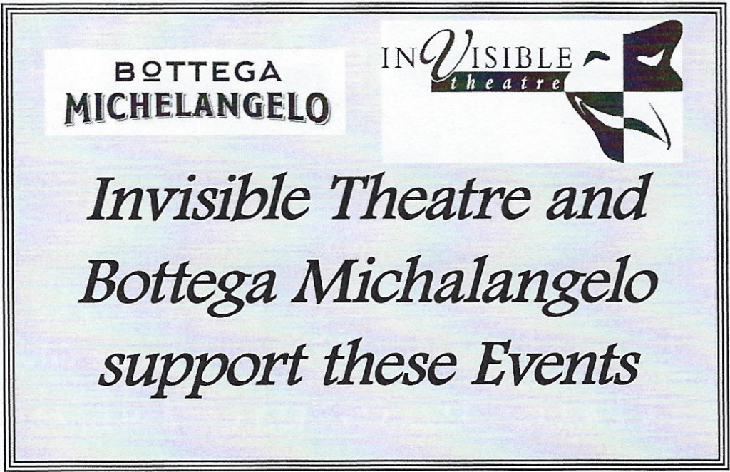 Bottega Michelangelo:Invisitble Bottega Michelangelo:Invisitble Theatre ⅛