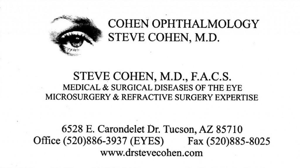 Cohen MD, Steve ⅛