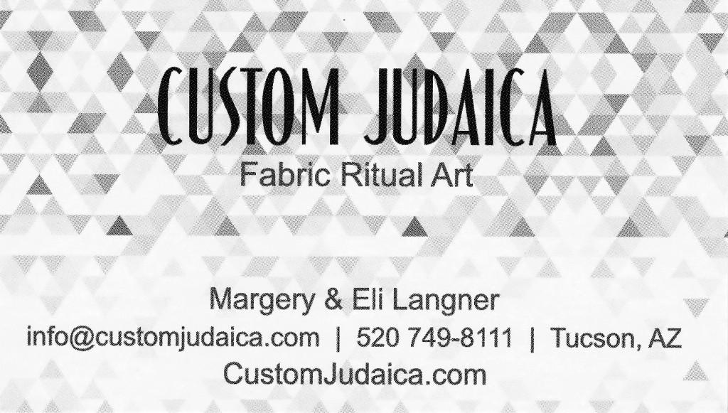 Custom Judaica* ⅛