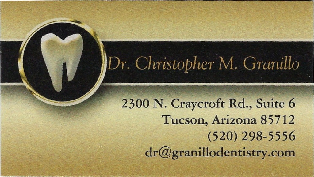 *Granillo DDS, Christopher ⅛