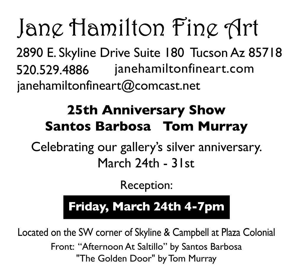 Hamilton, Jane, Fine Art ¼