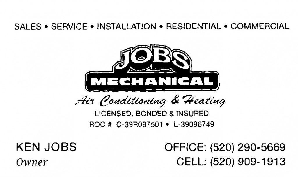 Jobs Mechanical ⅛