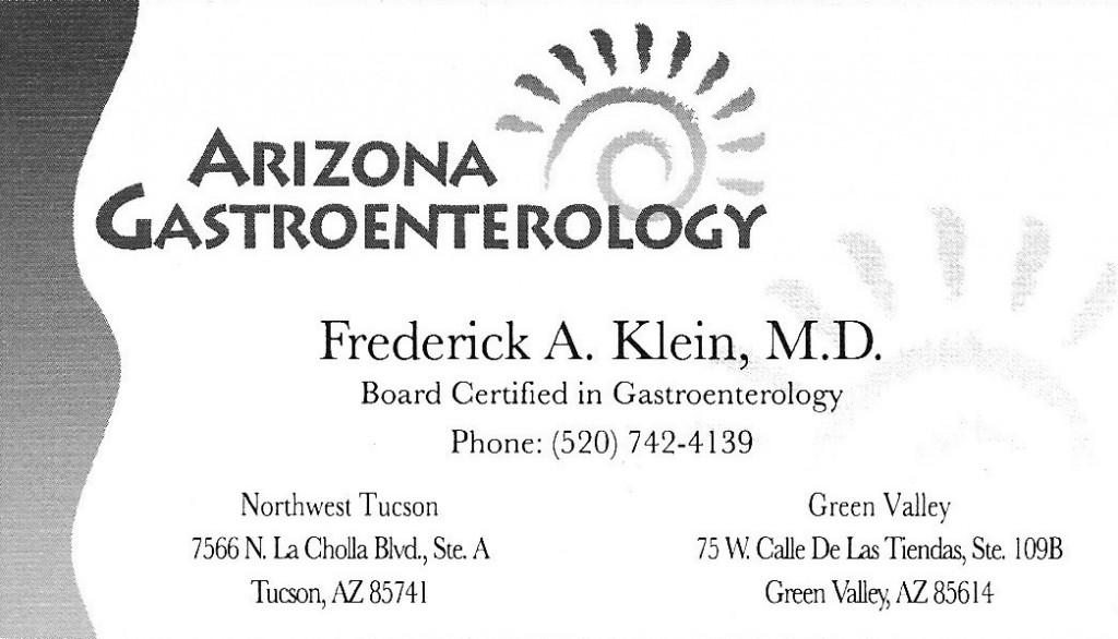 Klein MD, Fred:AZ GE