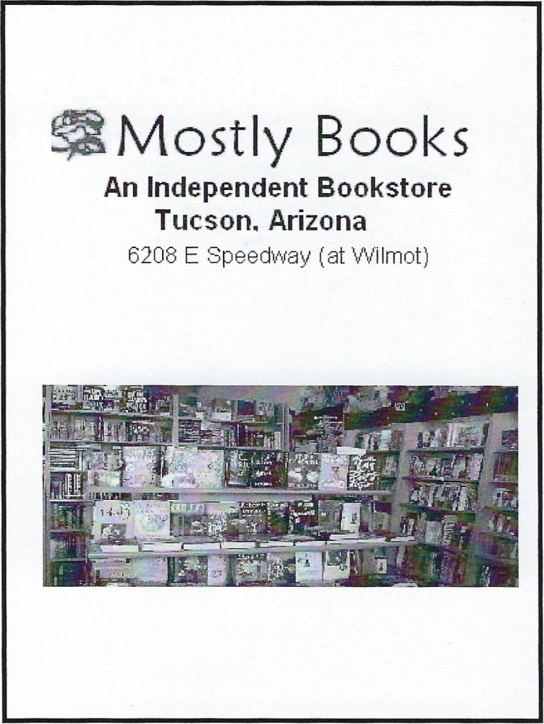 Mostly Books ad ⅛
