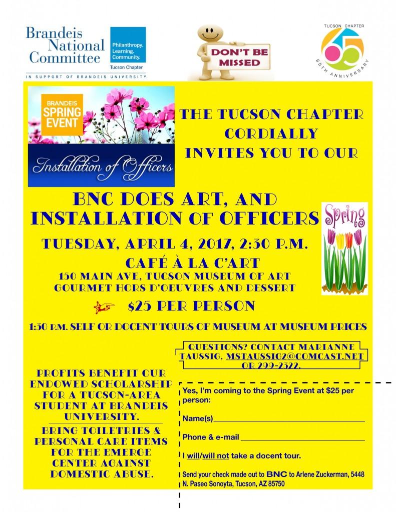 Spring Closing Event