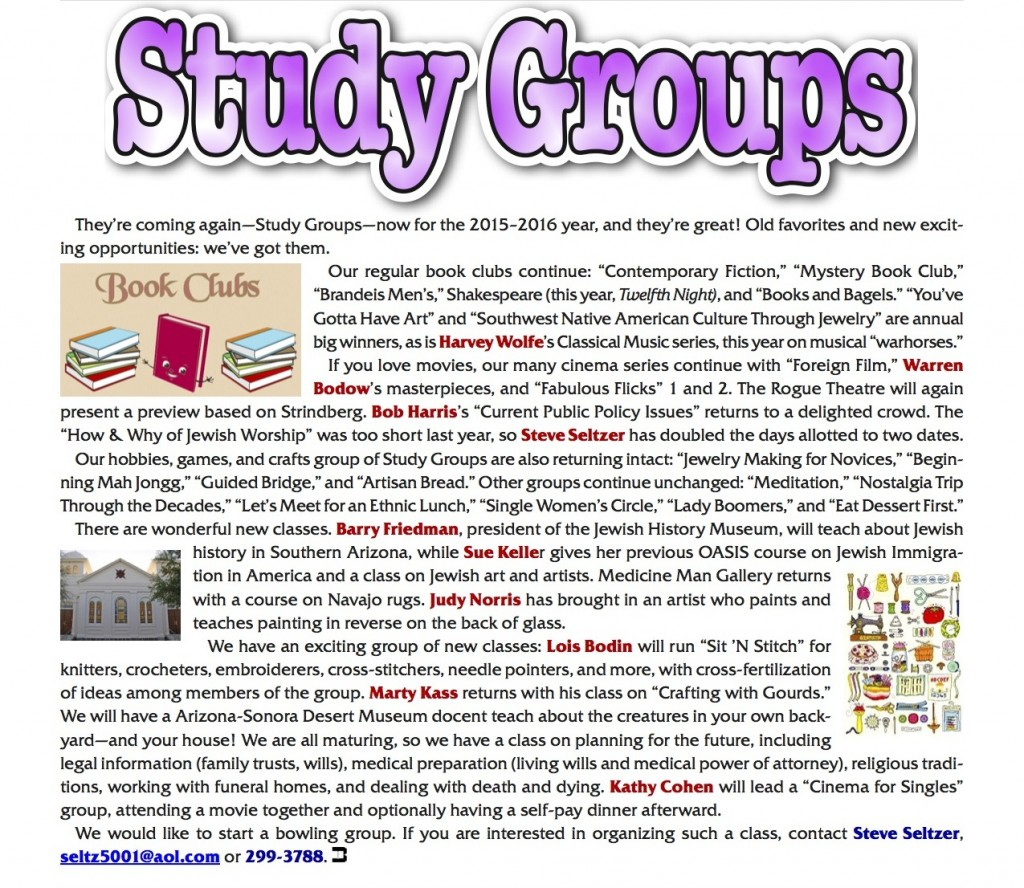 Study Groups Event